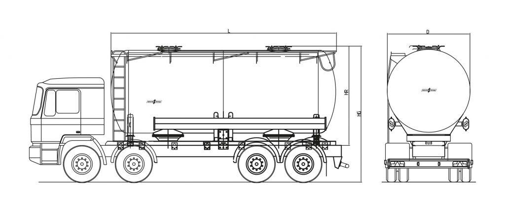 Technische Zeichnung - A23/2