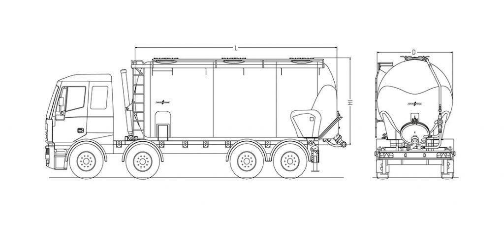 Technical drawing -  AK 32