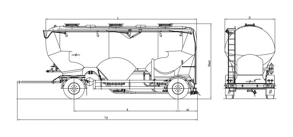 Technical drawing -  SAPI 1833/3