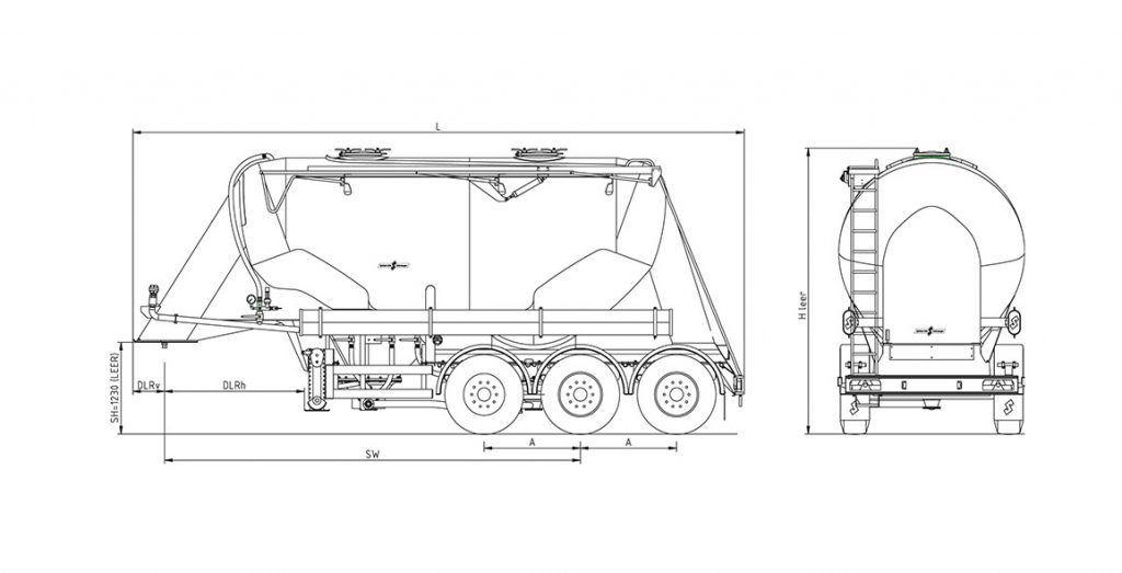 Technical drawing -  SF 2725/2 P