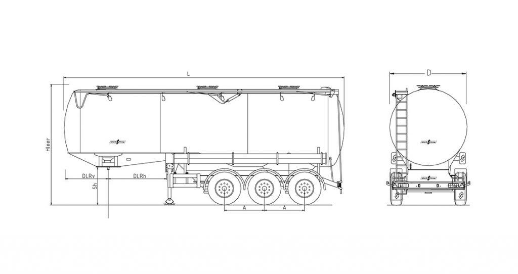 Technische Zeichnung - SF 2737/3 Z