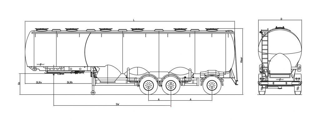 Technische Zeichnung - SF 2753/6 ZHL