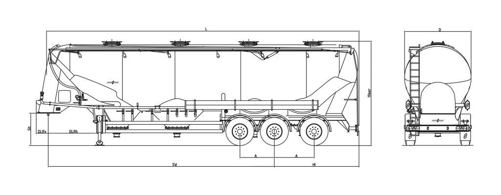 Technische Zeichnung - SF 2758/4 P