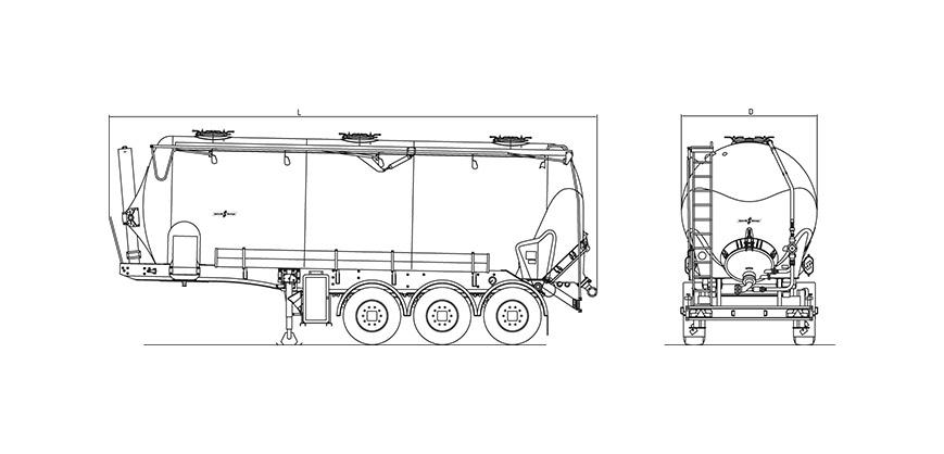 Technische Zeichnung - SK 2738 CAL