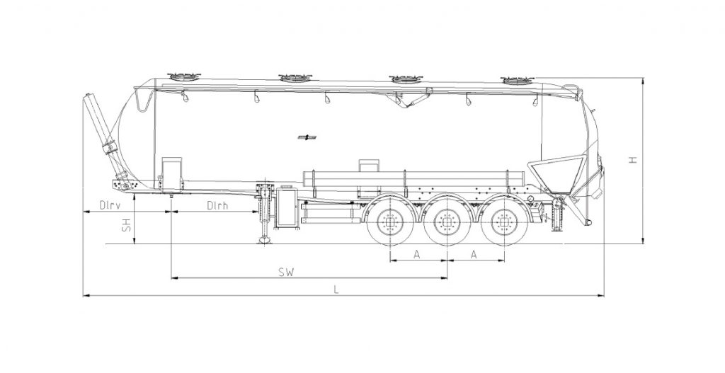Technical drawing -  SK 2752 CAL Composite