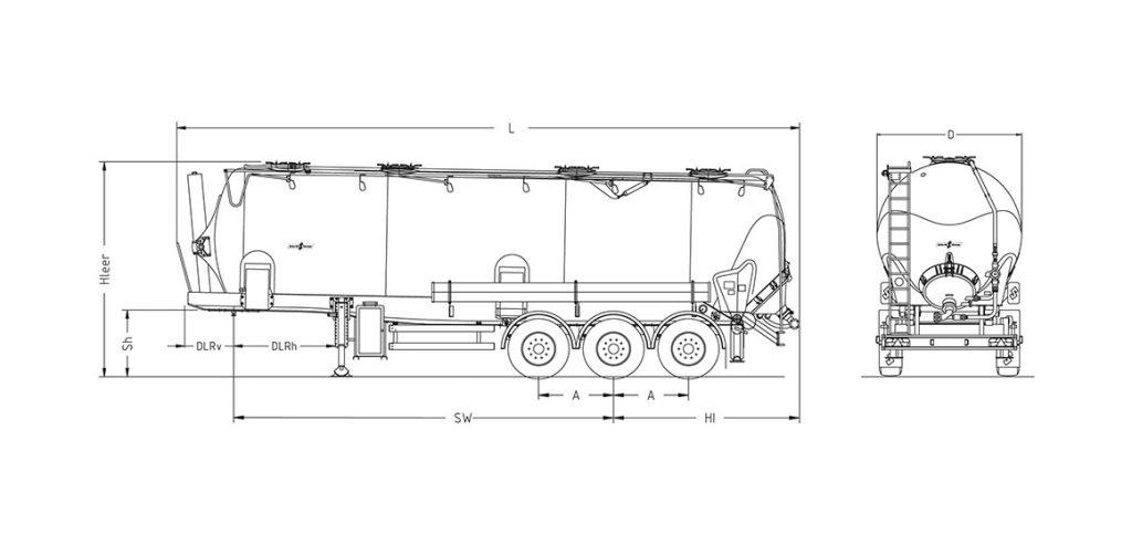 Technische Zeichnung - SK 2753 CAL