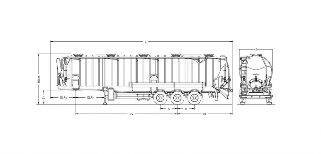 Technische Zeichnung - SK 2759 CAL Vakuum