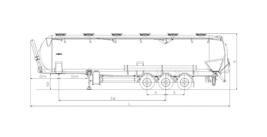 Technische Zeichnung - SK 2765 CAL Composite