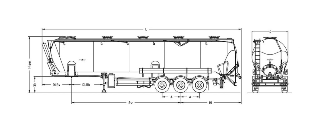 Technical drawing -  SK 2766 CAL