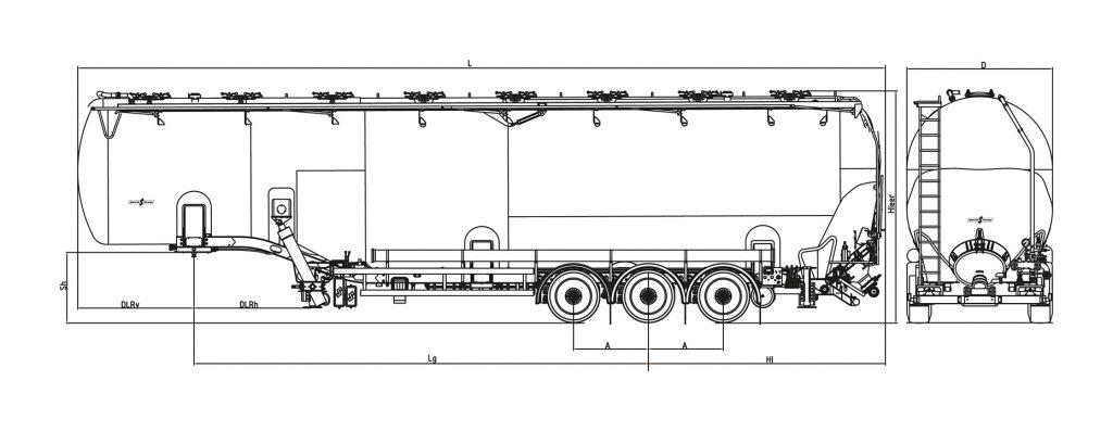 Technische Zeichnung - SK 2789 ZOC
