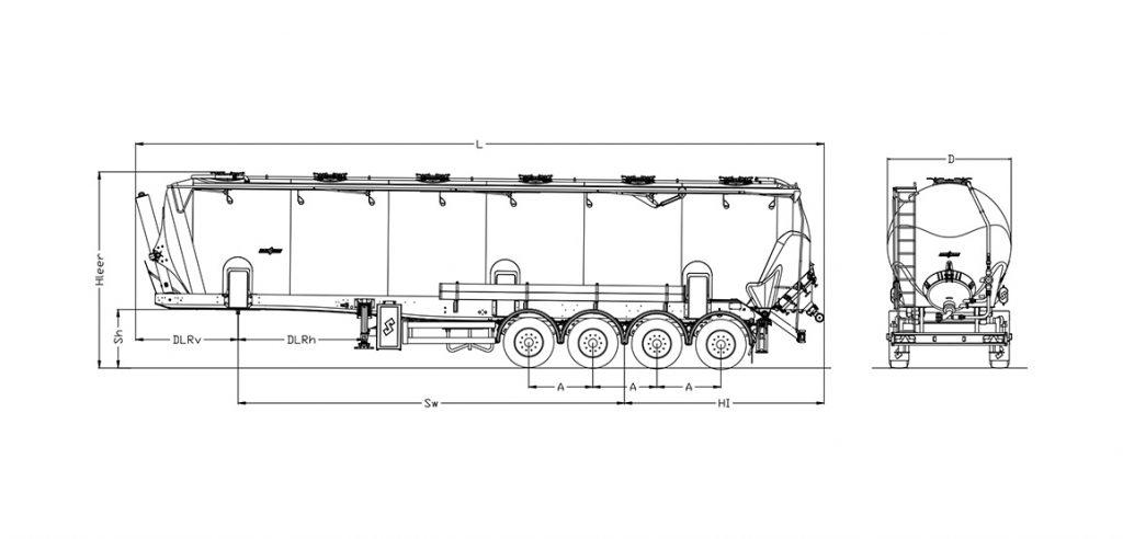Technische Zeichnung - SK 3066 CAL
