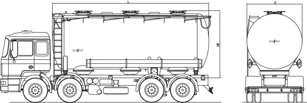 Technische Zeichnung - A26/3