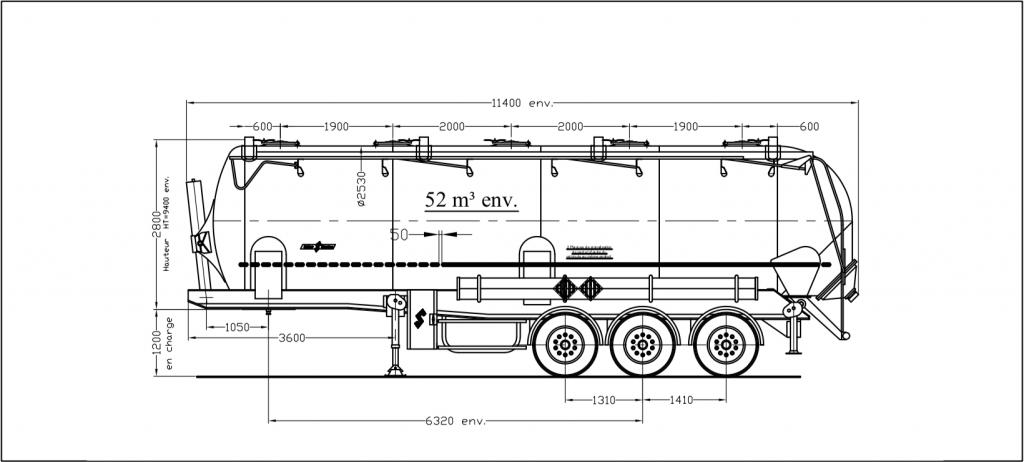 Dessin technique - SK 2752 CAL