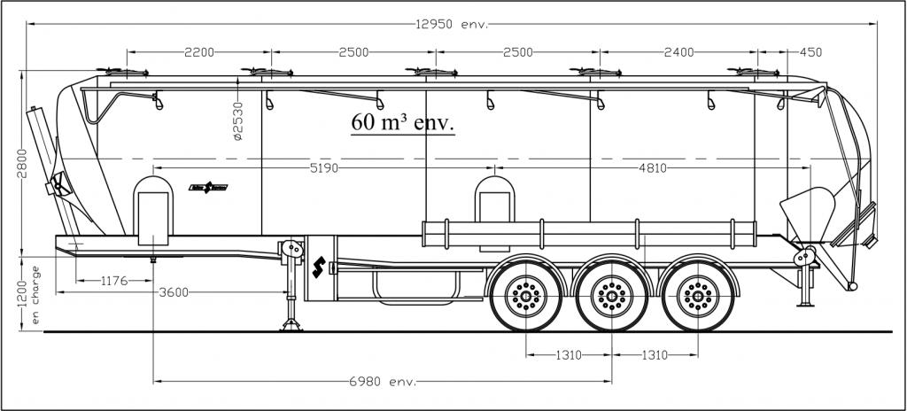 Dessin technique - SK 2760 CAL