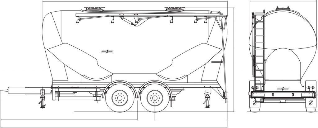 Technical drawing -  ZA 1830/2