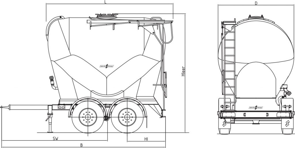 Technical drawing -  ZA 1820/1